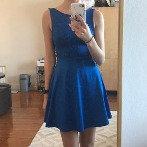 Divided by H&M royal blue dress